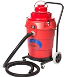 Boiler Soot Vacuum Cleaner, 12-Gallon, 2HP, Dolly-Mounted